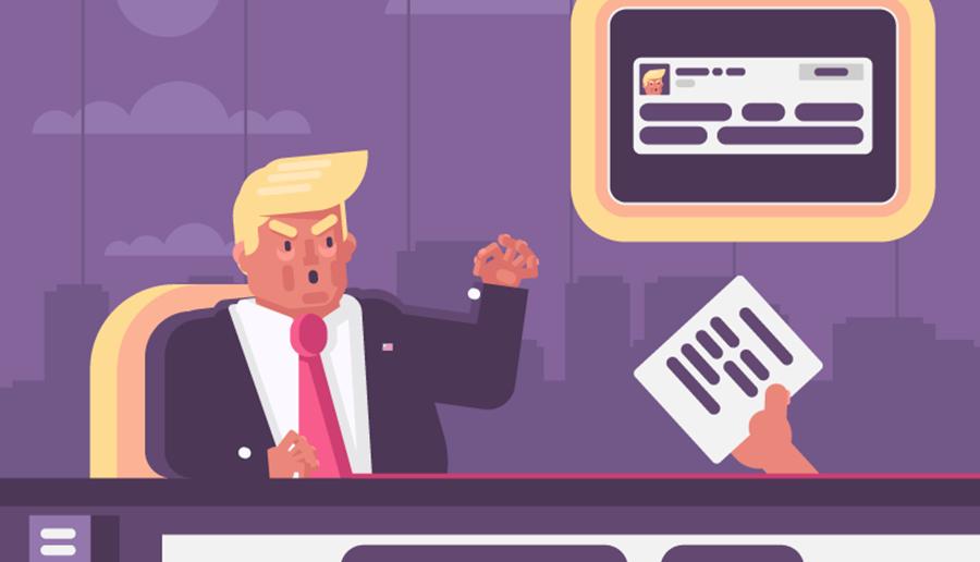 ترجمه نامه اداری یا نوشتن آن بسیار مهم است، لطفا مثل دونالد ترامپ نامه ننویسید!