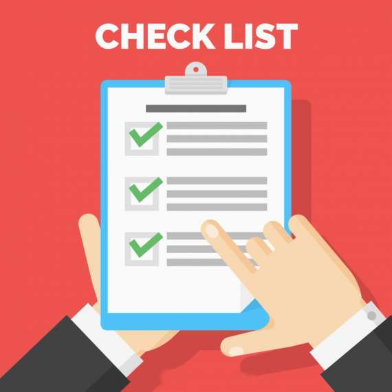 checklist for writing for مقاله ISI