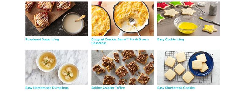 سایتی حاوی دستورالعمل های ویژه آشپزی