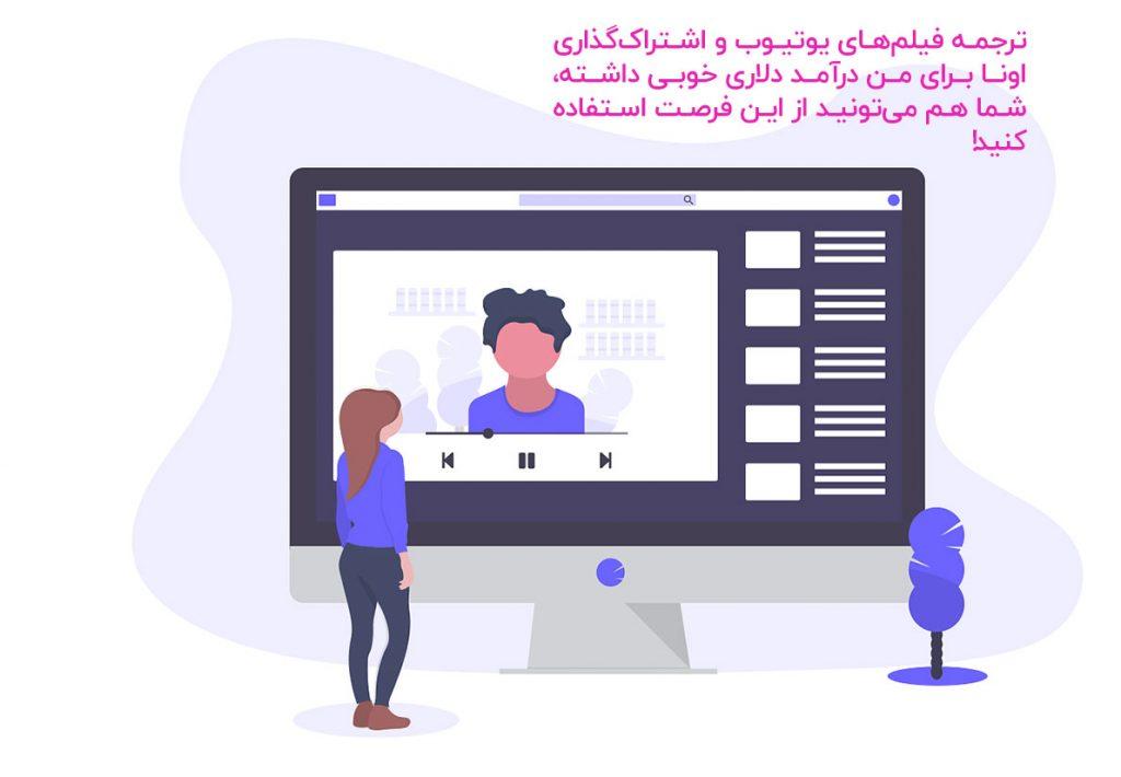 ترجمه فیلم انگلیسی به فارسی